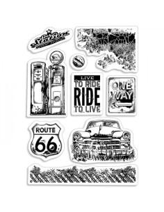 Sello Ride to live de CB