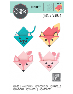 Troquel thinlits Animal Bookmarks de Sizzix