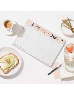 Planificador menú semanal de Charuca