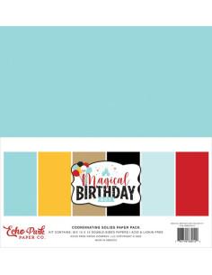 Kit sólidos Magical birthday boy de Echo Park