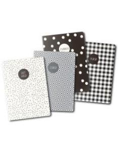 Set cuadernos A6 monochrome de Carpe Diem