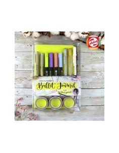 Kit bullet journal verde