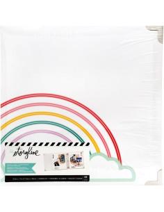 Album Storyline 3-D Ring Arcoíros de Heidi Swapp