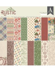 Bloc 12x12 Rustic de Authentique