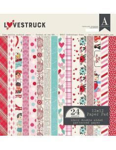 Bloc 12x12 Lovestruck de Authentique