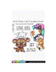 Sello Lovely Critters de CC Desings