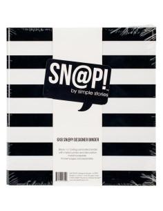 Carpeta 6x8 negra de Simple Stories