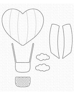 Troquel Heart Air Balloon de MFT