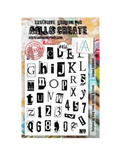 Sello Snippet alphabet de Aall&Create