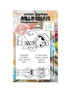 Sello Little Frida de Aall&Create