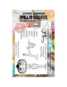 Sello Happy dog de Aall&Create
