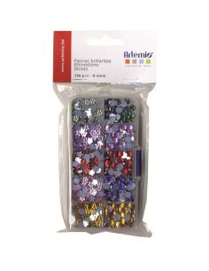 Caja brillantes 750 piezas de Artemio