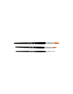 Set 3 pinceles redondos de Artemio