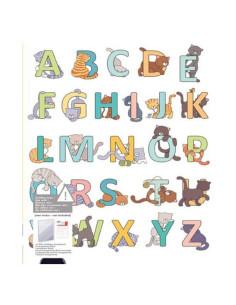 Sello Alfabeto Gatos de Artemio