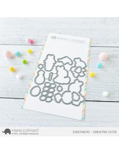 Troquel Eggtastic de Mama Elephant