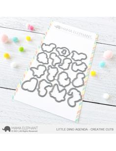 Troquel Little Dino Agenda de Mama Elephant
