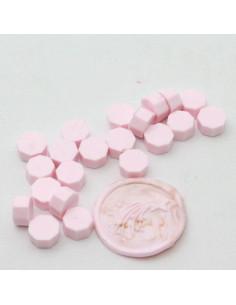 Pastillas de cera rosa bebé