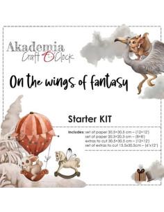 Kit On the wings os fantasy de Craft O´Clock
