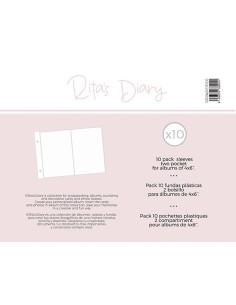Fundas 4x6'' RitasDiary 1 bolsillo