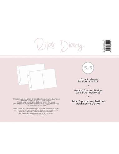 Fundas 4x6'' RitasDiary 2 bolsillos