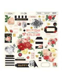 Chipboard In Bloom de My Mind´s Eye