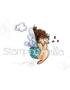 Sello Stampingbella Edna blows a kiss