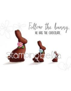 Sello Stampingbella Chocolate bunnies