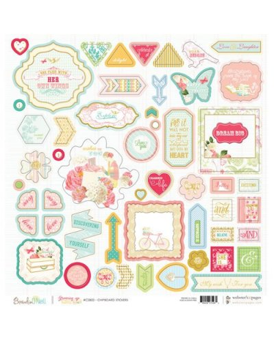 Chipboard Growing up Girl WP