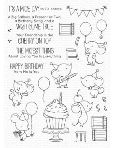 Sello Mice Day to Celebrate de MFT