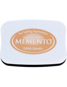 Tinta Memento Toffee Crunch Caja 95x65mm