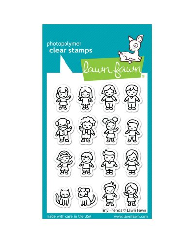Sello Tiny Friends de Lawn Fawn