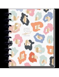 Happy Planner Agenda 18 meses Leopardo