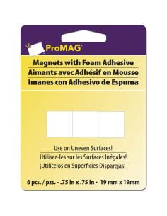 Imanes cuadrados con adhesivo de espuma 19mm ProMag