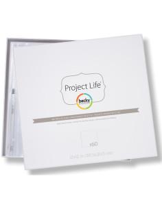 Fundas de 12x12 de Proyect Life 60 uds