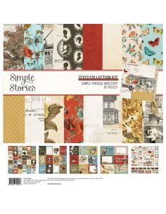 "Kit 12"" Simple Vintage Ancestry de Simple Stories"