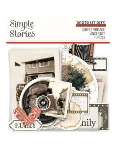 Troquelados Simple Vintage Ancestry de Simple Stories