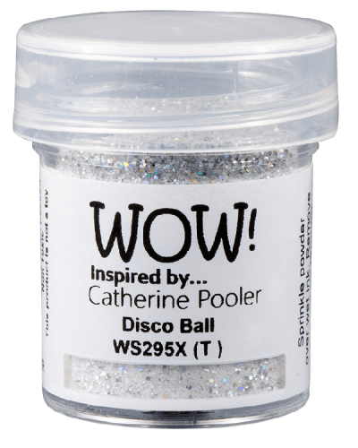 Polvo emboss WOW! Disco Ball