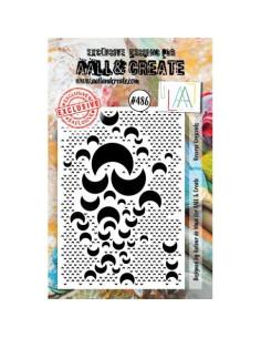 Sello Reverse Crescents de AALL&Create