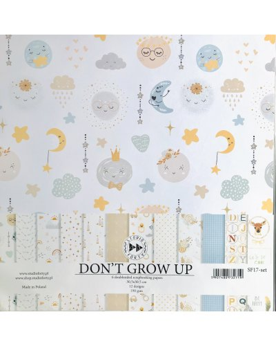 "Kit 12"" Don´t Grow Up de Studio Forty"