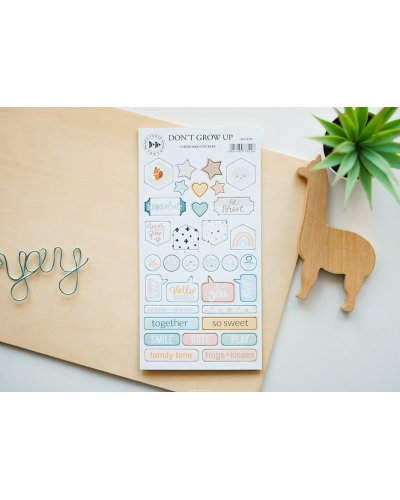 Chipboard Don´t Grow Up de Studio Forty