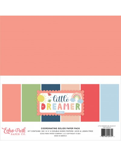 Kit sólidos Little Dreamer Girl de Echo Park
