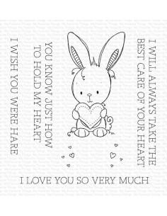 Sello Wish You Were Hare de MFT
