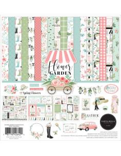 "Kit 12"" Flower Garden de Cartabella"