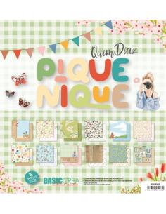 """Kit 12"""" Pique-Nique de Quim Díaz"""