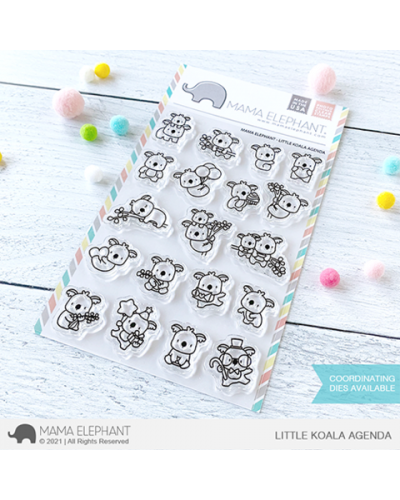 Sello Little Koala Agenda de Mama Elephant