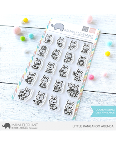 Sello Little Kangaroo Agenda de Mama Elephant