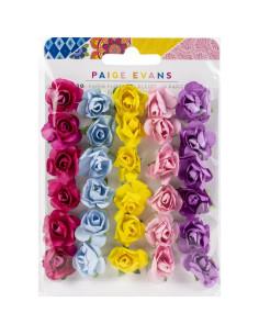 Pack de flores de papel Wonders de paige Evans