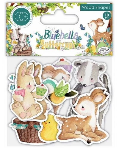 Pack de papeles Bluebells and buttercup de cc+