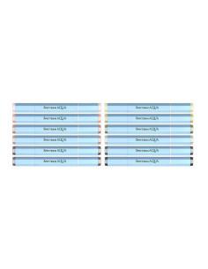 Set rotuladores fino metalicos NOVA