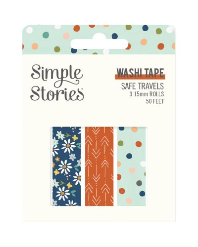 Washi Tape Safe Travels de Simple Stories